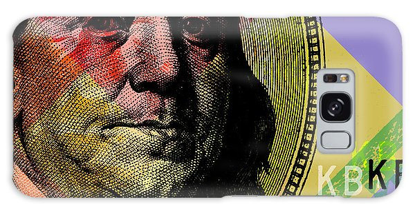 Hundred Galaxy Case - Benjamin Franklin - $100 Bill by Jean luc Comperat