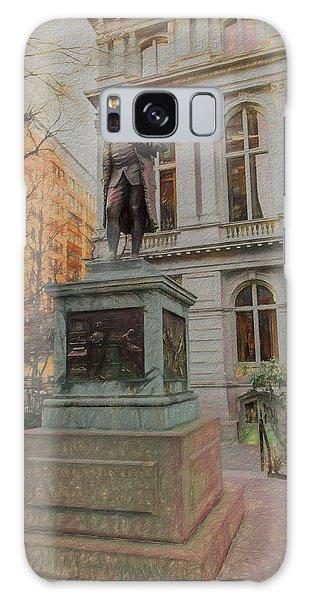 Benjamin Franklin Sketch Galaxy Case