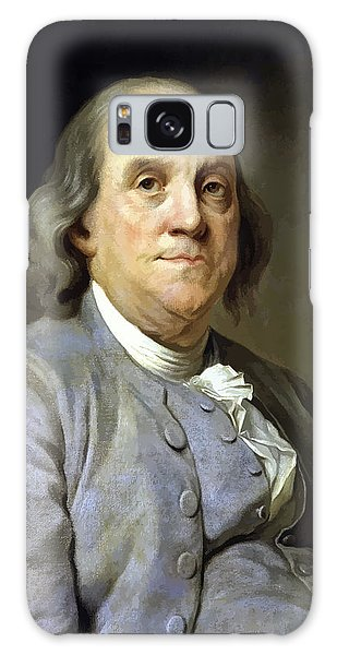 Heroes Galaxy Case - Benjamin Franklin Painting by War Is Hell Store