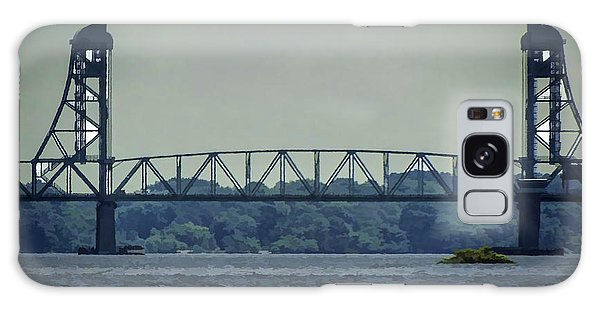 Benjamin Harrison Memorial Draw Bridge Galaxy Case