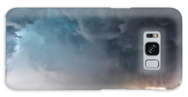 Bennington Kansas Tornado Structure Galaxy Case by James Menzies