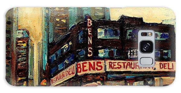 Bens Restaurant Deli Galaxy Case