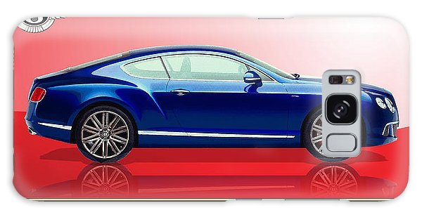 Automotive Galaxy Case - Bentley Continental Gt With 3d Badge by Serge Averbukh