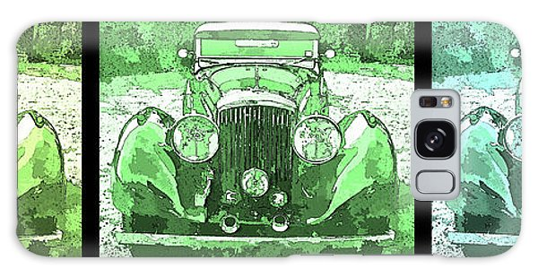 Bentley Green Pop Art Triple Galaxy Case