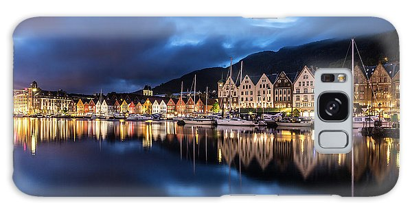 Bergen Harbor Galaxy Case