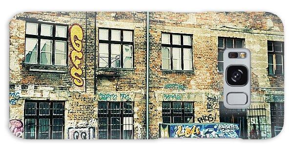 Berlin House Wall With Graffiti  Galaxy Case