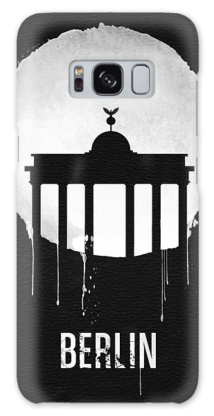 Berlin Galaxy Case - Berlin Landmark Black by Naxart Studio