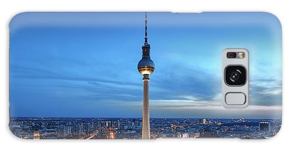 Berlin Television Tower Galaxy Case