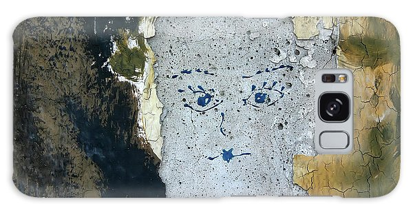 Berlin Wall Mural Galaxy Case