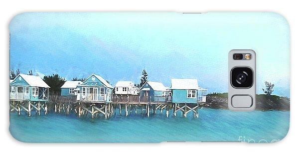 Bermuda Coastal Cabins Galaxy S8 Case