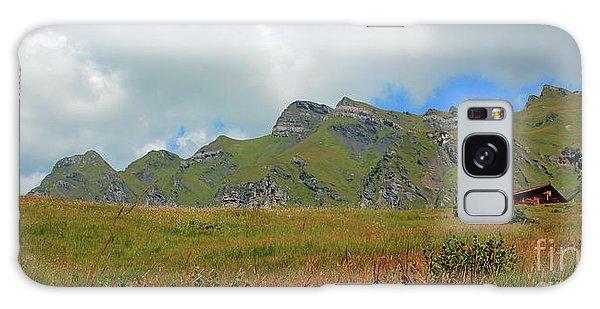Bernese Alps Switzerland Mountain Landscape Galaxy Case