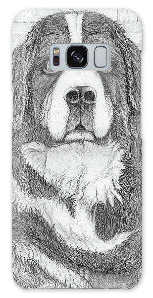 Bernese Mountain Dog  Galaxy Case