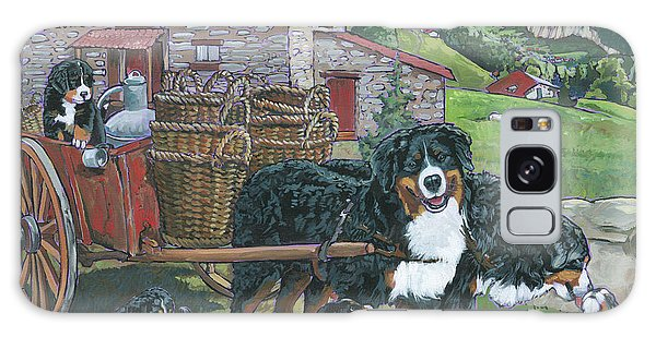 Bernese Mountain Dog Galaxy Case