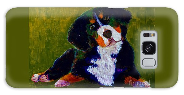 Bernese Mtn Dog Puppy Galaxy Case