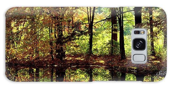Bernharts Dam Fall 006 Galaxy Case