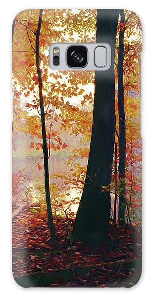 Bernharts Dam Fall 031 Galaxy Case by Scott McAllister