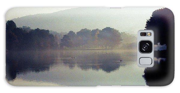 Bernharts Dam Fog 020 Galaxy Case by Scott McAllister