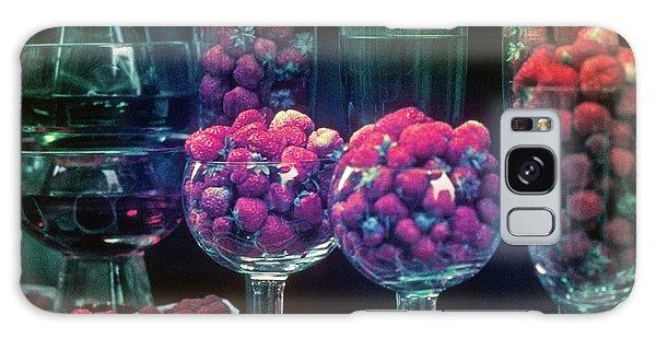 Berries In The Window Galaxy Case