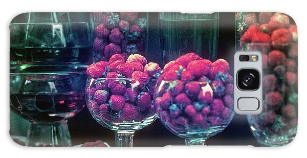 Berries In The Window Galaxy Case