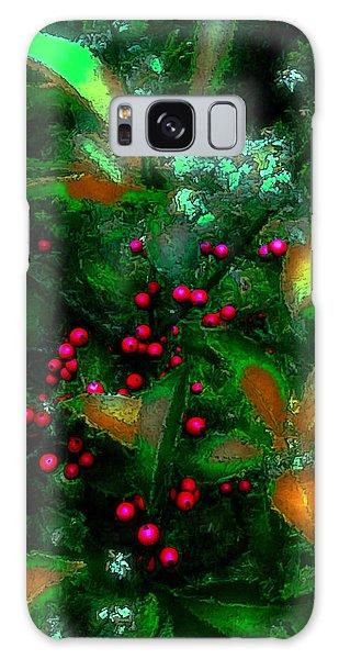 Berries Galaxy Case by Iowan Stone-Flowers