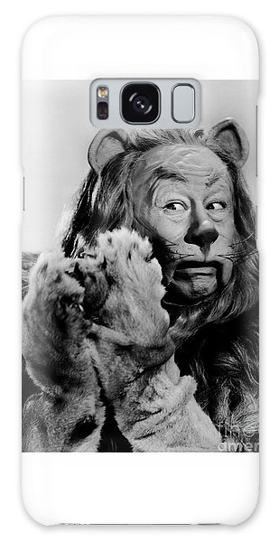 Bert Lahr As The Cowardly Lion In The Wizard Of Oz Galaxy Case