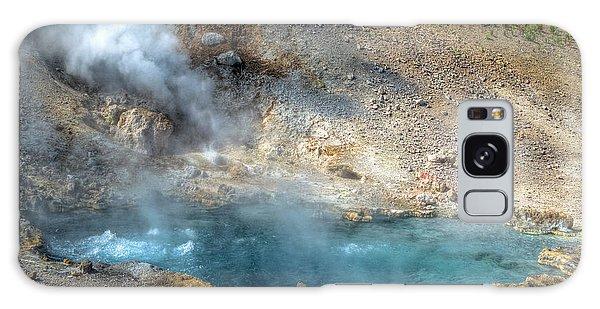 Beryl Hot Springs, Ynp Galaxy Case by Greg Sigrist