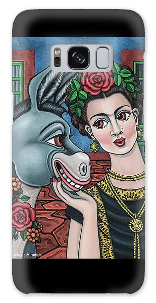 Beso Or Fridas Kisses Galaxy Case