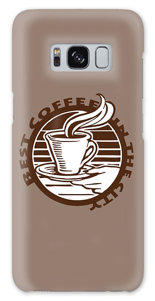 Galaxy Case featuring the digital art Best Coffee In The City by Jennifer Hotai