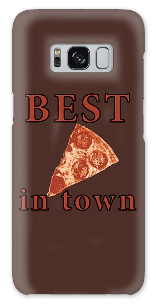 Galaxy Case featuring the digital art Best Pizza In Town by Jennifer Hotai