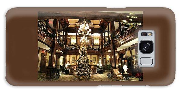 Best Western Plus Windsor Hotel Lobby - Christmas Galaxy Case