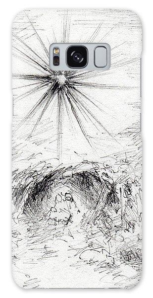 Galaxy Case - Bethlehem Morning by Rachel Christine Nowicki