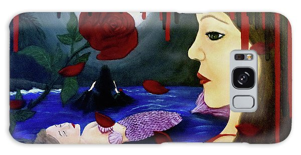 Galaxy Case featuring the painting Betrayal by Teresa Wing