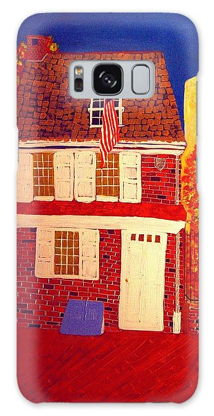 Betsy Ross's House Galaxy Case