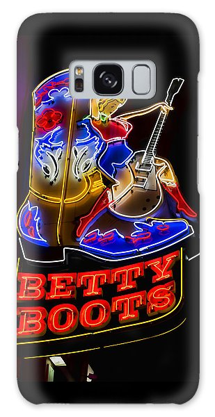 Betty Boots Galaxy Case by Stephen Stookey