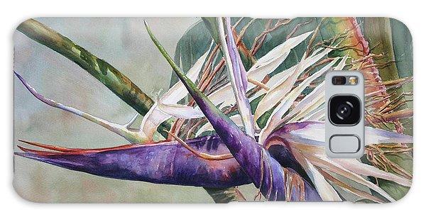 Betty's Bird - Bird Of Paradise Galaxy Case by Roxanne Tobaison