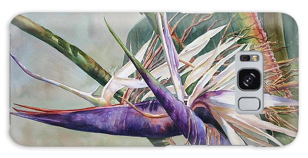 Betty's Bird - Bird Of Paradise Galaxy Case by Roxanne Tobaison