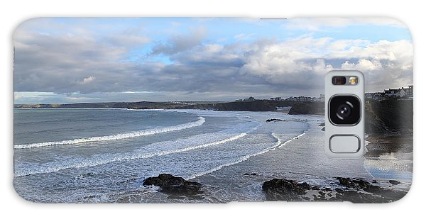 Between Cornish Storms 2 Galaxy Case by Nicholas Burningham