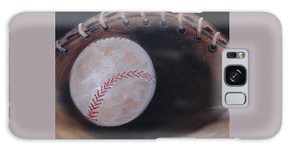 Galaxy Case featuring the painting Between Innings by Judith Rhue