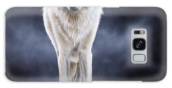 'between The White And The Black' Galaxy Case by Sandi Baker