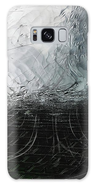 Galaxy Case featuring the digital art Between Us, This Melancholy Sea by Wendy J St Christopher