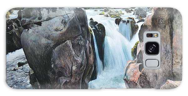 Betws-y-coed Waterfall In North Wales Galaxy Case