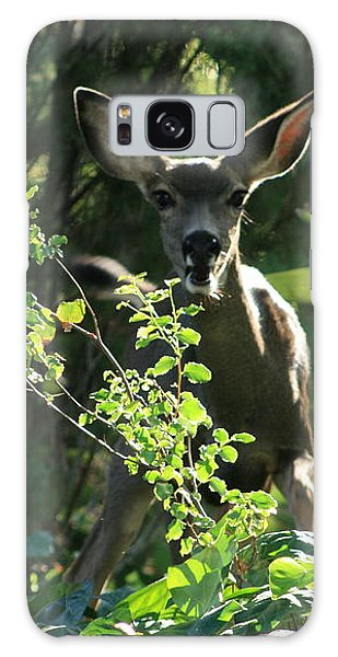 Beverly Hills Deer Galaxy Case by Marna Edwards Flavell