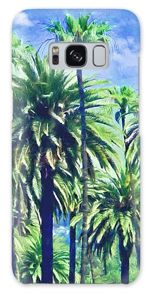 Beverly Hills Palms Galaxy Case
