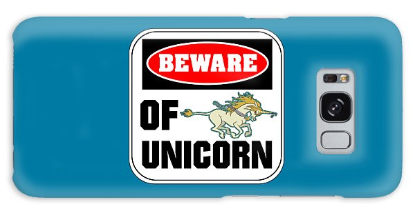 Beware Of Unicorn Galaxy Case