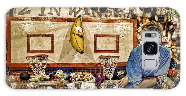 County Fair Galaxy Case - Beware The Smiling Banana  by Bob Orsillo