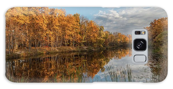 Beyer's Pond In Autumn Galaxy Case