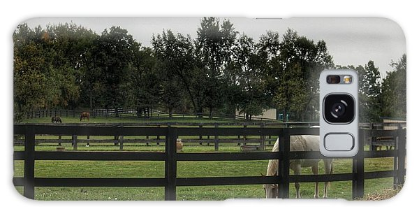 1004 - Beyond The Fence White Horse Galaxy Case