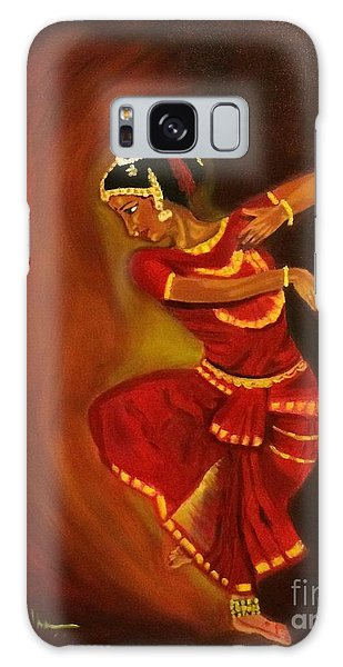 Bharatnatyam Dancer Galaxy Case by Brindha Naveen