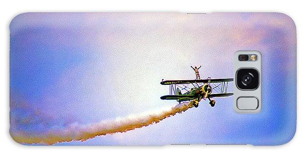 Bi-plane And Wing Walker Galaxy Case