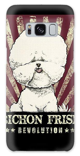 Bichon Frise Revolution Galaxy Case